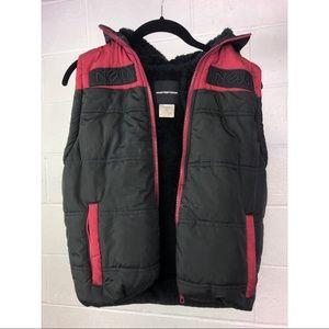 NEWSTREETORDER warm zip-up hoodie vest